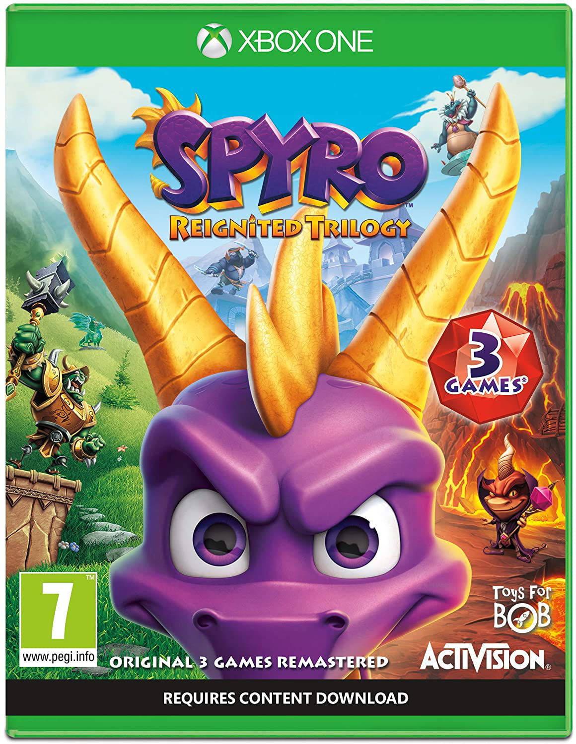 Picture of Spyro Reignited Trilogy