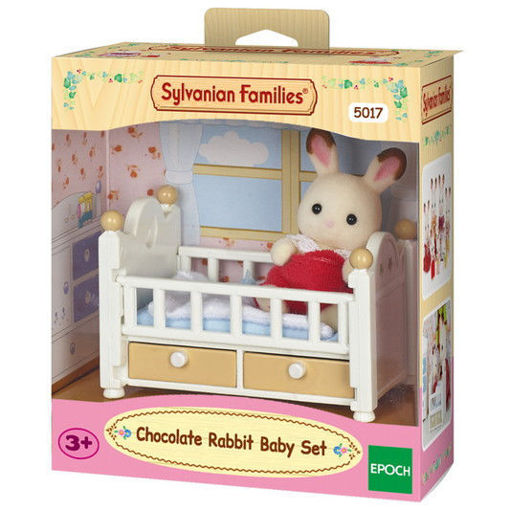 Picture of Chocolate Rabbit Baby Set