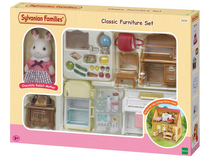 Picture of Classic Furniture Set -for Cosy Cottage Starter Home