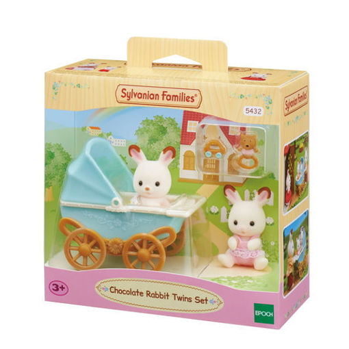 Picture of Chocolate Rabbit Twins Set