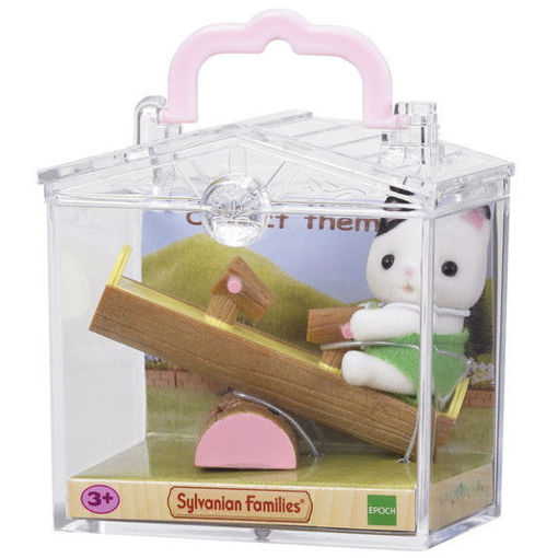 Picture of Baby Carry Case (Cat on See-saw)