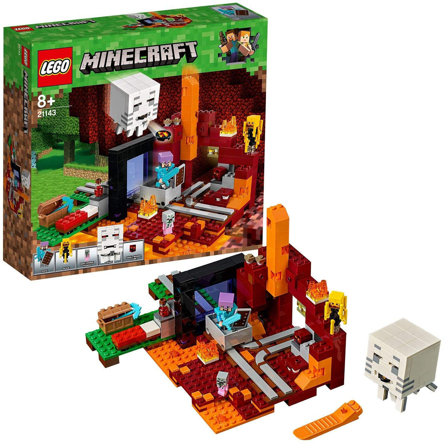 Lego The Nether Portal 21143