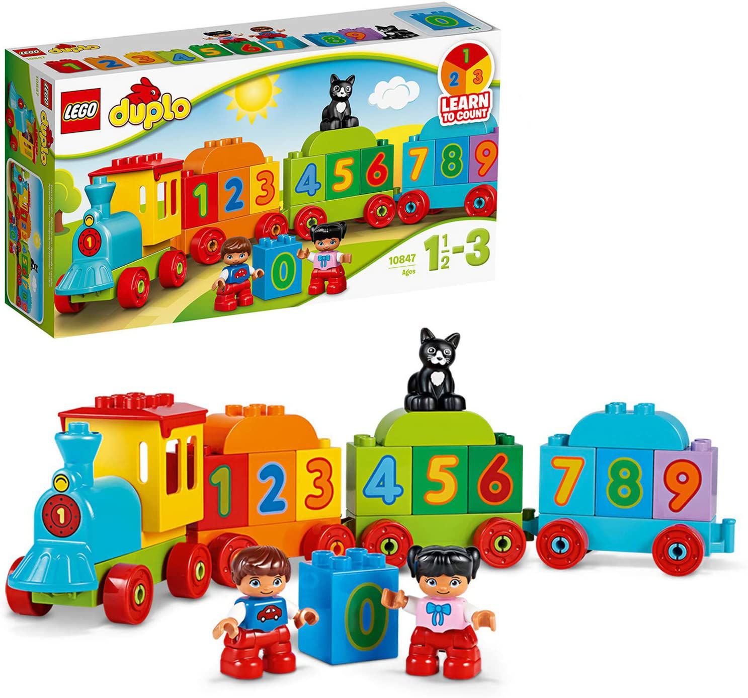 Picture of Number Train