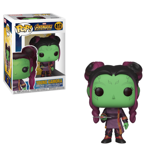 Picture of Pop Bobble: Marvel: Avengers Infinity War: Young Gamora w/ Dagger Funko