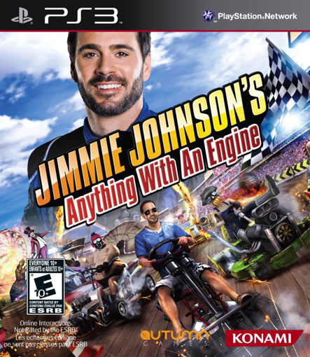 Picture of Jimmie Johnson's Anything With An Engine