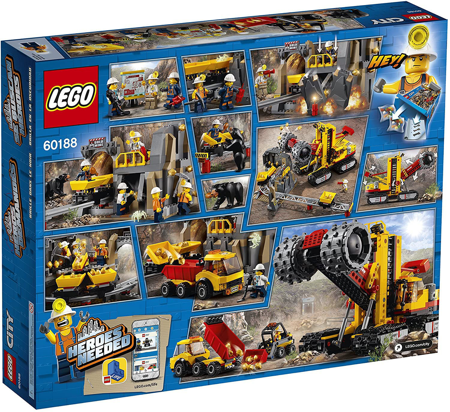 LEGO City Mining Experts Site 60188