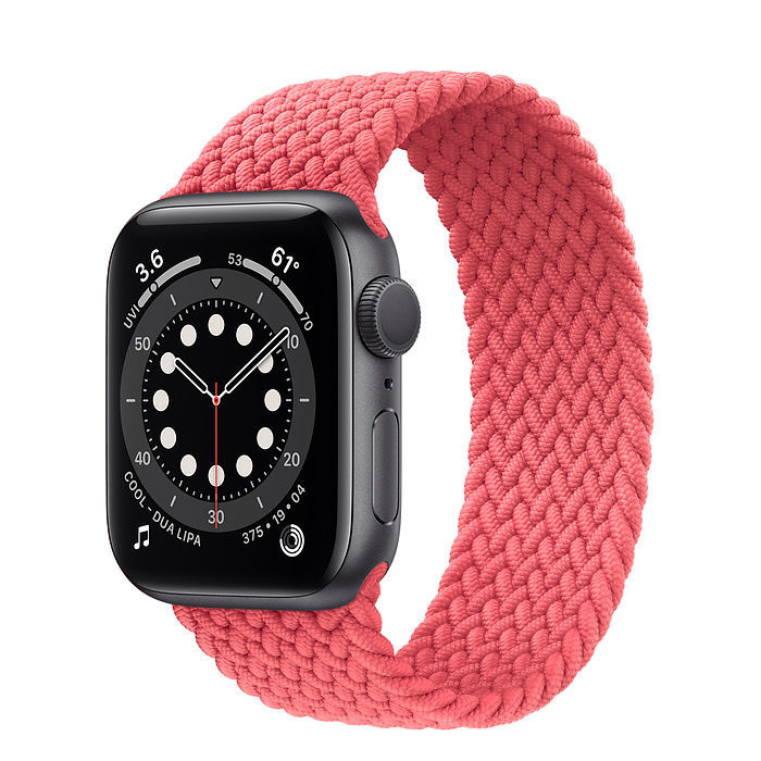 Imagen de New Apple Watch Space Gray Aluminum Case with Braided Solo Loop