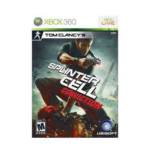 Tom Clancy's Splinter Cell Conviction Strategy Game Xbox 360