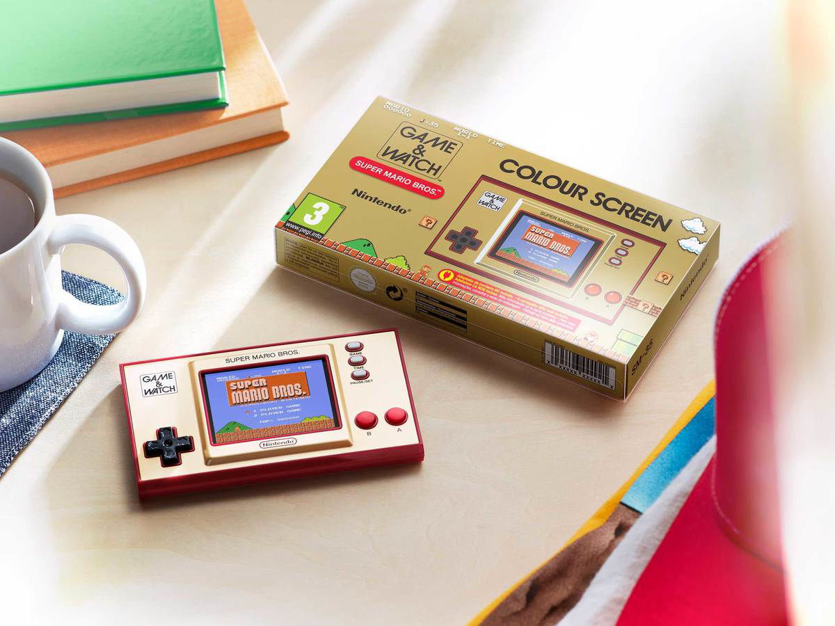 Picture of קונסולת Game & Watch: Super Mario Bros