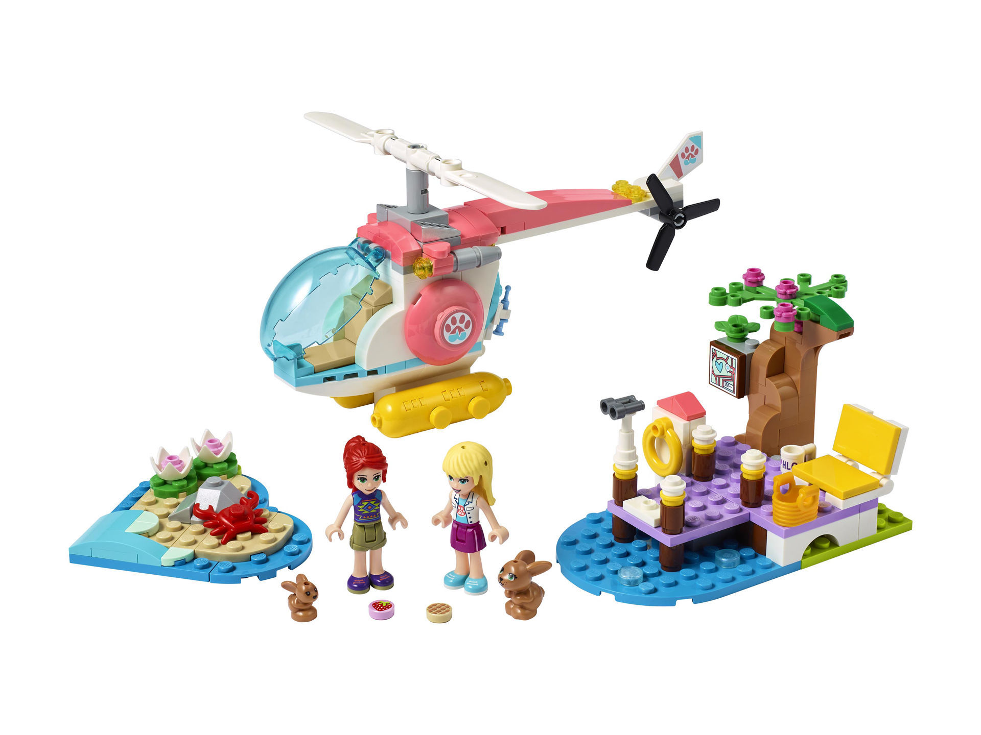 Lego Friends Vet Clinic Rescue Helicopter