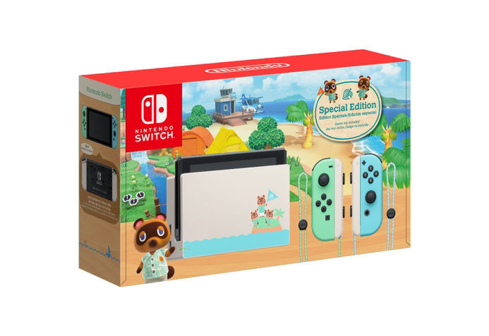 Special Edition Nintendo Switch Animal Crossing: New Horizons Ver 1.1
