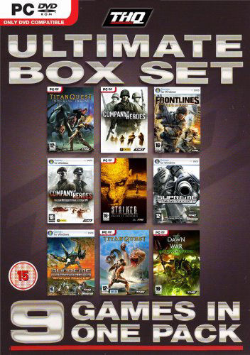 THQ Ultimate Box Set 9 Games in 1 Pack