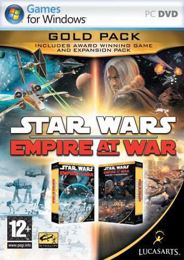Star Wars: Empire at War - Gold Pack (PC DVD)