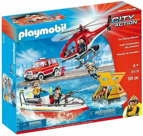 Playmobil City Action 9319 Fire Rescue Mission