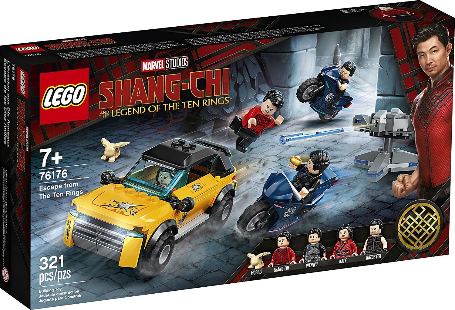 Lego Escape from The Ten Rings 76176