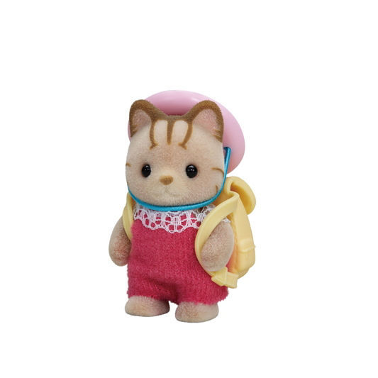 Sylvanian Families - Striped Cat Baby 5417